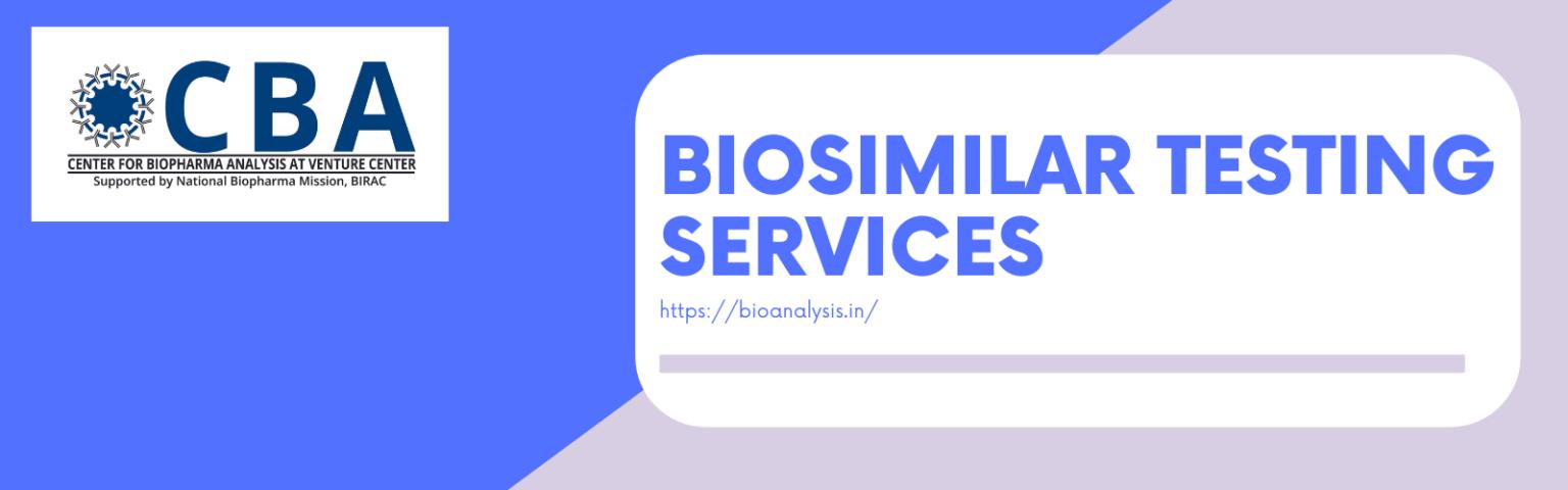 Biosimilar testing services